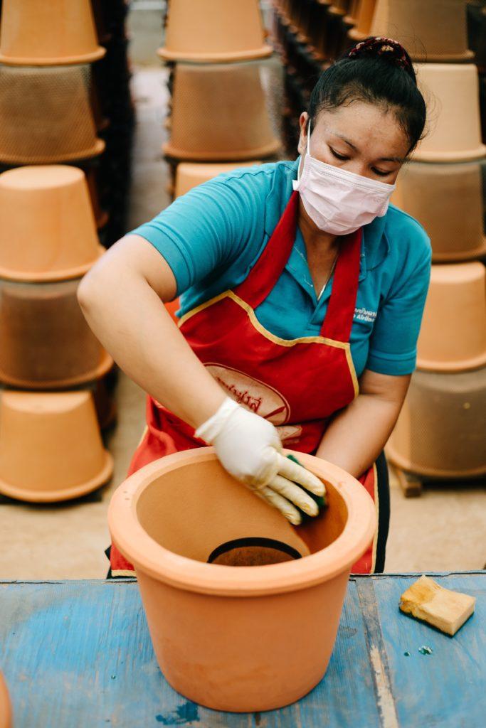 Wasserfilter in Laos - TerraClear X Klimashopper 3