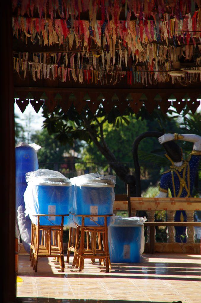 Wasserfilter in Laos - TerraClear X Klimashopper 5