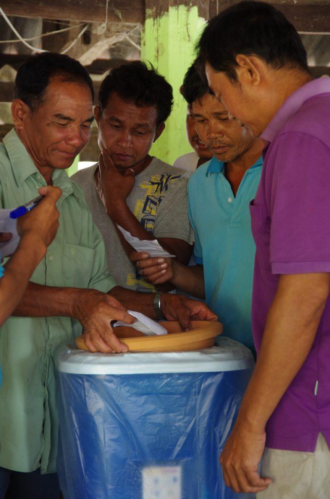Wasserfilter in Laos - TerraClear X Klimashopper6