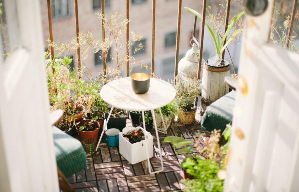 richtige Balkonmöbel